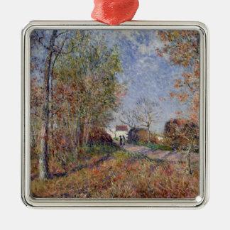 Alfred Sisley el | una esquina de las maderas en Adorno De Cerámica