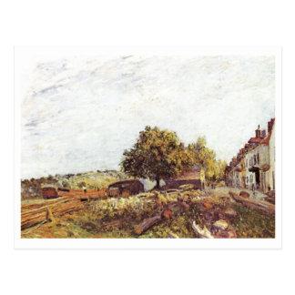 Alfred Sisley - Santo-Mammès Morgen 1890 Postal