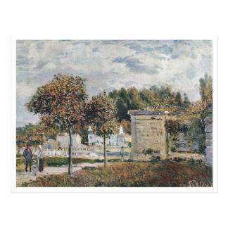 Alfred Sisley - Schwemme von Marly 1875 Tarjeta Postal