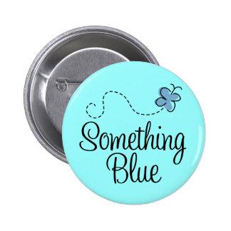 Algo botón azul para la novia