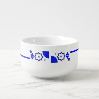 Cuenco De Sopa Algo cuenco para sopa azul