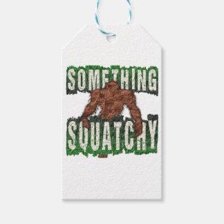 Algo Squatchy Etiquetas Para Regalos
