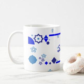 Taza De Café Algo taza azul