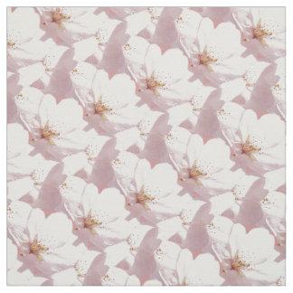 Algodón de la tela de la flor de cerezo de la tela