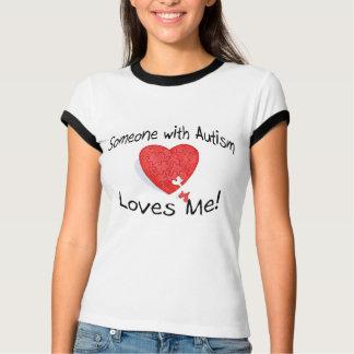 Alguien con autismo me ama (el rompecabezas de camisas