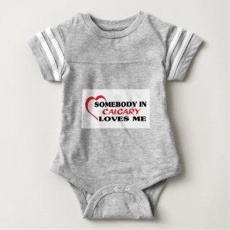 Alguien en Calgary me ama Body Para Bebé
