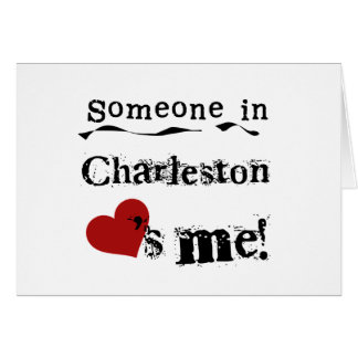 Alguien en Charleston Felicitaciones