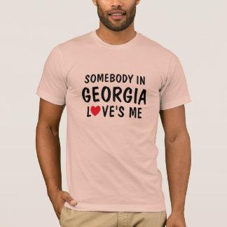 Alguien en Georgia me ama camisa