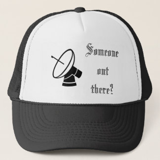 Alguien hacia fuera allí gorra