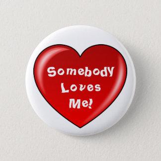 Alguien me ama botón