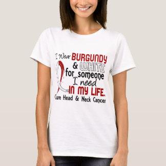 Alguien necesito al cáncer principal del cuello camiseta