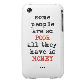 Alguna gente es así que los pobres todos lo que ti iPhone 3 protector