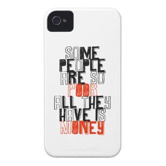 Alguna gente es así que los pobres todos lo que ti iPhone 4 Case-Mate carcasas