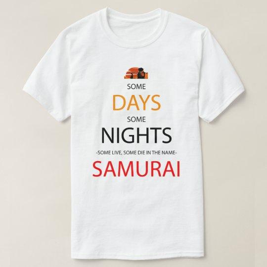 Algunos días, un poco de camisa de Manga del