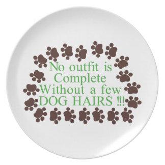 Algunos pelos de perro platos para fiestas