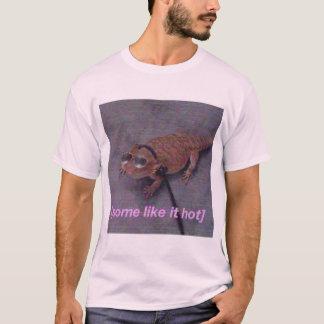 Algunos tienen gusto de él camiseta caliente del