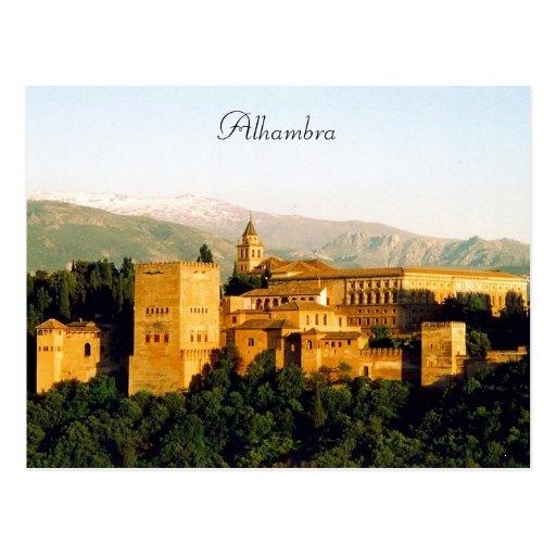 Alhambra Tarjeta Postal