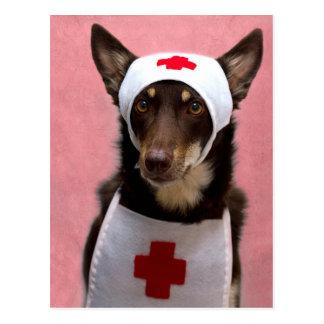 Aliado de la enfermera tarjetas postales