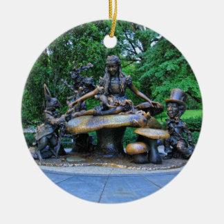 Alicia en el país de las maravillas - Central Park Ornamento De Navidad