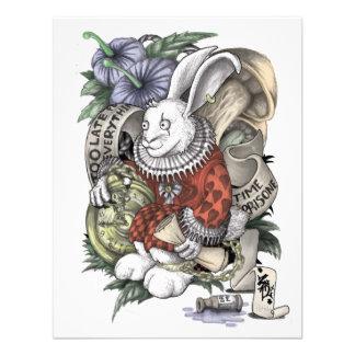 Alicia en el país de las maravillas Conejo encade Comunicados Personalizados