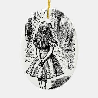 Alicia en el país de las maravillas; Gato de Chesh Ornamentos De Reyes Magos