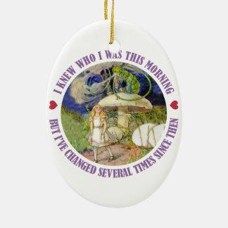 Alicia en el país de las maravillas - sabía quién  ornaments para arbol de navidad