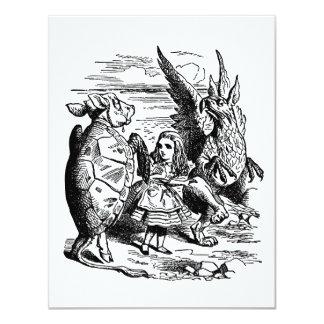 Alicia en el país de las maravillas; Tortuga Anuncios