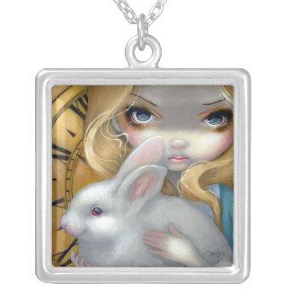 Alicia en FoF blanco 141 del conejo del COLLAR del