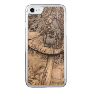 Alicia en la cachimba del país de las maravillas funda para iPhone 8/7 de carved