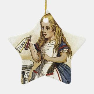 Alicia en la diversión del país de las maravillas ornamentos para reyes magos