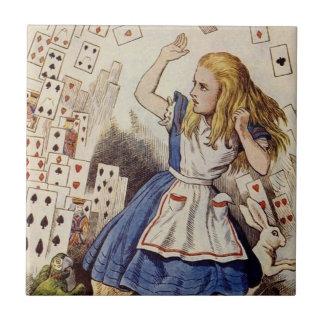 Alicia en la teja del país de las maravillas, ataq