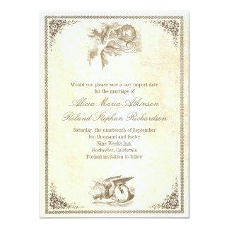 Alicia en reserva del país de las maravillas las invitaciones personales