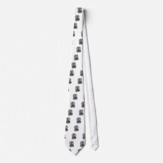 Alicia en un espejo corbata personalizada