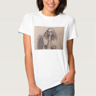 Alicia Largo-Necked Camisetas