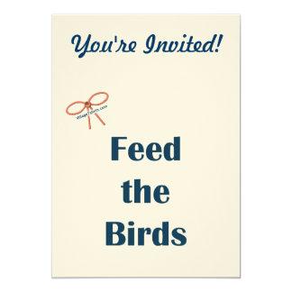 Alimente a pájaros los recordatorios comunicados personales