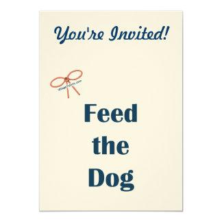 Alimente los recordatorios del perro comunicados personalizados
