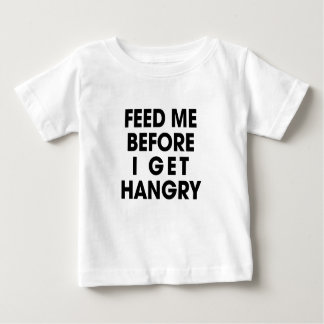Aliménteme Camiseta De Bebé