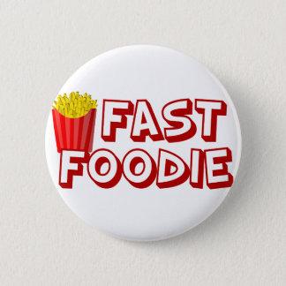 Alimentos de preparación rápida divertidos chapa redonda de 5 cm