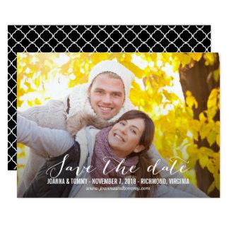 ALISE la reserva las tarjetas de fecha Invitación 12,7 X 17,8 Cm