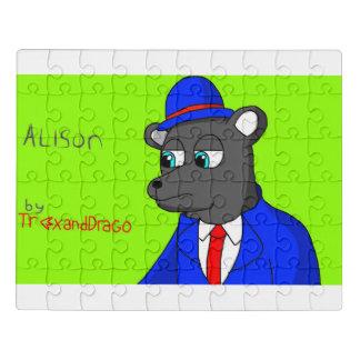 Alison el rompecabezas del oso