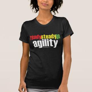 ¡Aliste, estabilícese, vaya agilidad! Camiseta