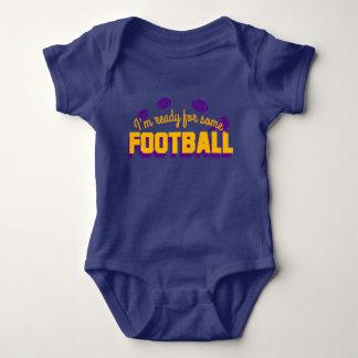 ¡Aliste para el fútbol! Body Para Bebé