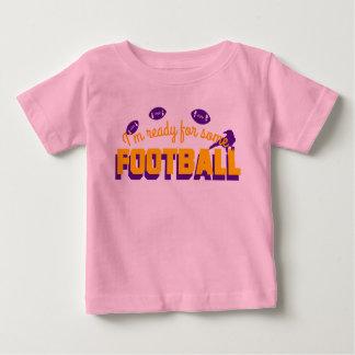 ¡Aliste para el fútbol! Camiseta De Bebé