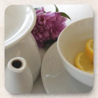 aliste para el té posavasos