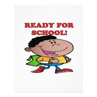 Aliste para la escuela 2 folleto 21,6 x 28 cm