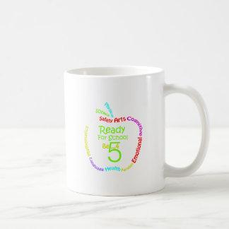 Aliste para la escuela B4Five - Apple Taza De Café