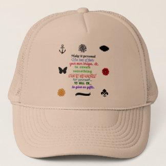 Aliste para personalizar el gorra su IMAGEN o