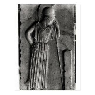 Alivio de Athena de luto, c.460 Postal