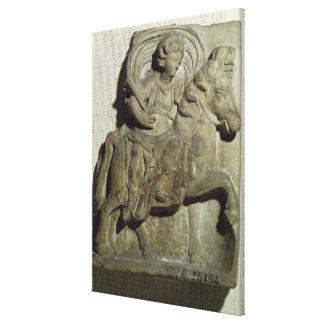 Alivio de Epona, diosa Gaulish Impresiones En Lienzo Estiradas