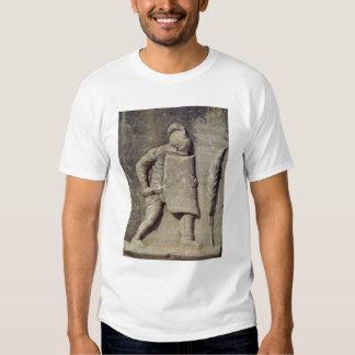 Alivio que representa a un soldado romano camiseta